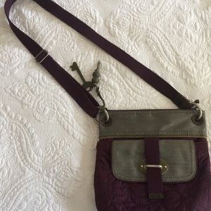 Women's Fossil Bag, purple and gray, no flaws